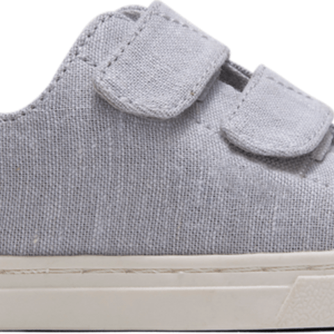 Glacier Gray Intricate Chambray Tiny TOMS Lenny Double Strap Sneakers