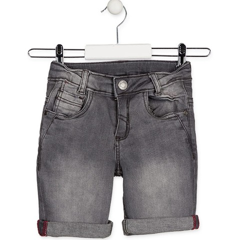 Essential collection shorts in denim for boy