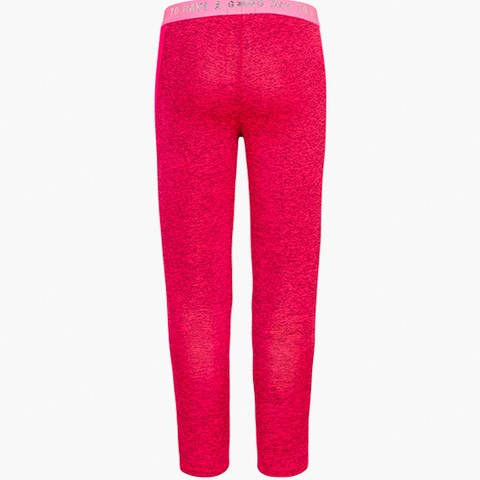 Technical fabric leggings in pink.